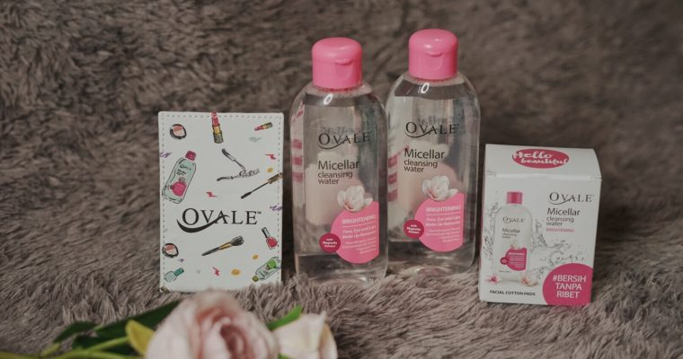 CURRENT FAVORITE MICELLAR WATER ; OVALE MICELLAR WATER